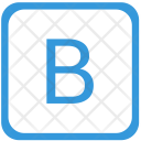 Key B Upper Icon