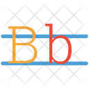 B Mark Abc Icon