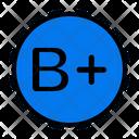 B Plus Icon