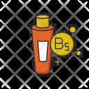 B 5 Panthenol In Tube Icon