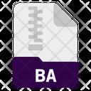 Ba file Icon