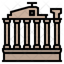 Baalbek Roman Temple Lebanon Icon