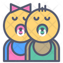 Babies Baby Kids Icon