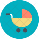 Baby Buggy Stroller Icon