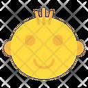 New Born Child Smile Icon