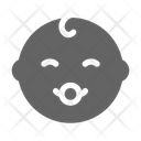 Baby Pacifier Happy Icon