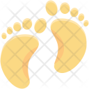 Baby Foot Kindergarten Icon