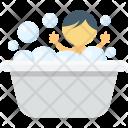 Baby Bath Tub Icon