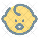 Baby Son Birth Icon