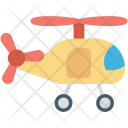 Baby Toy Helicopter Icon