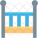 Baby Bed Cot Icon