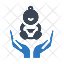 Baby Care Hand Icon