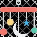 Baby Toy Crib Icon