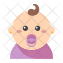 Girl Baby User Icon