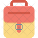 Baby Backpack Bag Icon