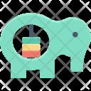 Baby Toy Elephant Icon