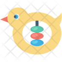 Baby Toy Duck Icon