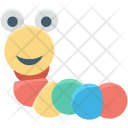 Baby Toy Earthworm Icon