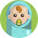 Baby Kid Pacifier Icon