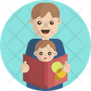 Baby Bedtime Stories Story Book Icon