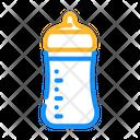 Baby Feeding Plastic Icon