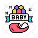 Baby Born Celebration Icon