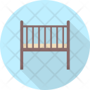 Baby Cradle Property Icon