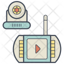 Baby Monitor Display Icon