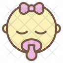 Baby Girl Newborn Icon