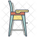 Baby Chair Furniture Icon