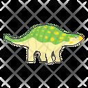 Baby Ankylosaurus Dino Icon