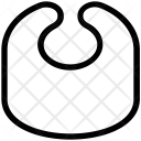 Apron Napkin Neonate Icon