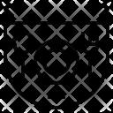 Baby apron Icon