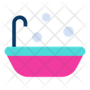 Babby Tub Baby Bathing Bathing Icon
