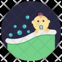 Baby Bath Icon