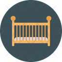 Baby Bed Furinture Icon