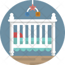 Baby Baby Bed Baby Crib Icon