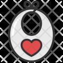 Bib Cloth Apron Icon