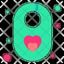 Baby Bib Bib Baby Cloth Icon