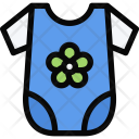 Baby Bodysuits School Icon