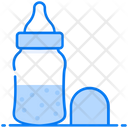 Baby Bottle Feeder Milk Bottle Icon