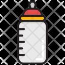 Baby Bottle Feeding Icon