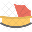 Baby Bouncer Cot Icon