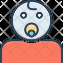 Baby Boy Newborn Nipple Child Toddler Cute Infant Kiddy Icon