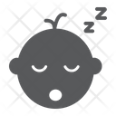 Baby Boy Sleep Icon