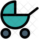 Baby Buggy Infant Kids Icon
