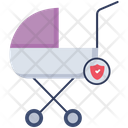Baby Buggy Stroller Baby Crib Icon