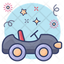 Baby Car Automobile Vehicle Icon