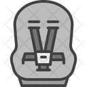 Baby Car Seat Baby Chair Icon