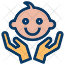 Baby Caring Icon